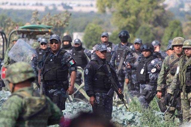 Reforzarán 3 mil elementos operativo contra huachicoleros en Puebla