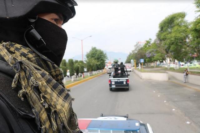 Gobierno estatal y Ejército despliegan elementos en Texmelucan