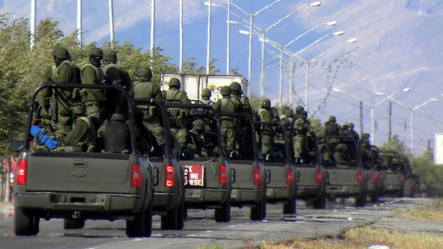Meade afirma que si gana la presidencia continuará la guerra contra el narco