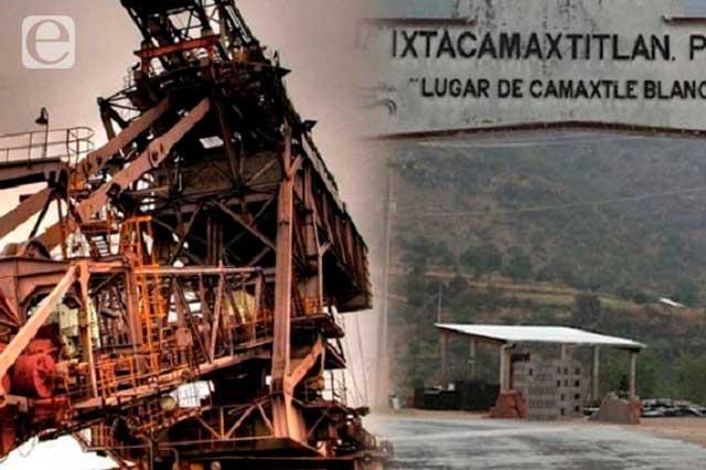 Rechazan estudio de la Minera Gorrión en Ixtacamaxtitlán