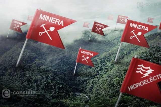 Oposición social frena proyectos de muerte en la Sierra Norte