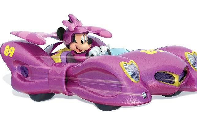 Minnie: Poder femenino a máxima velocidad