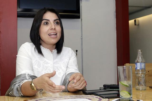 El PAN debe eliminar los tratos cupulares, señala Mirelle Montes
