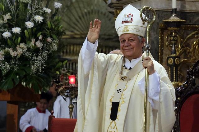 Avala arzobispo de Puebla acción del gobierno en Texmelucan