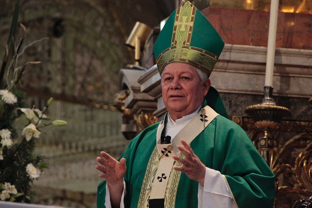 Llamará arquidiócesis de Puebla al voto responsable: arzobispo