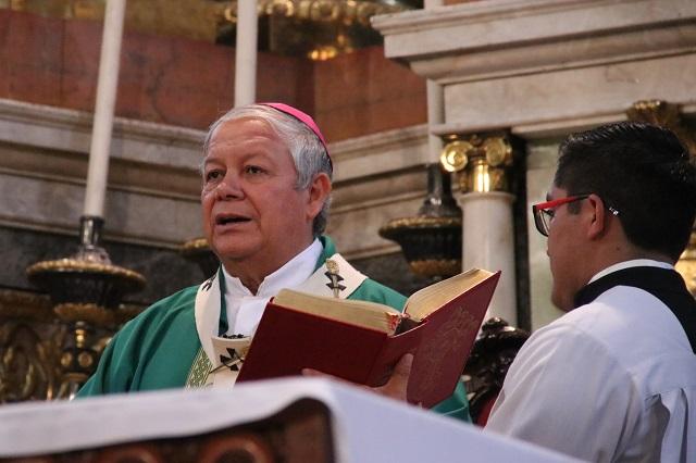 Recibieron alcaldes municipios con asesinatos y levantones: arzobispo
