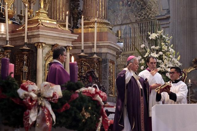 Pide arzobispo que nuevo gobierno atienda crisis por huachicol