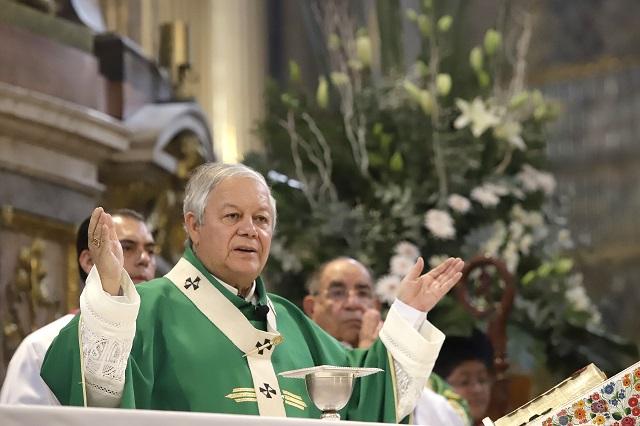 Se ha frenado robo de arte sacro en Puebla, asegura arzobispo