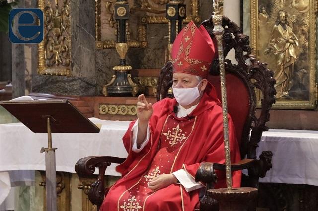 Pide arzobispo unidad para unas elecciones limpias