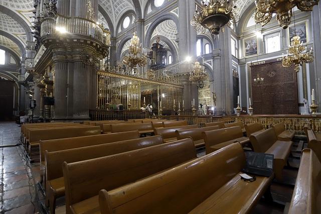 Desde Catedral, obispo llaman a respetar el confinamiento