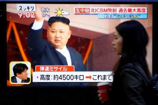 Corea advierte que el misil que lanzó tiene capacidad de llegar a EU