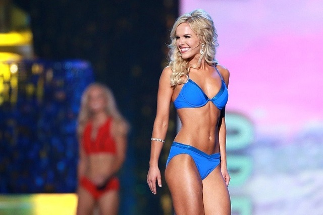 Con video Miss América le dice adiós al bikini y arma polémica