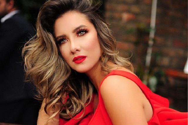 Ex Miss Colombia ya dio sus primeros pasos y comparte video