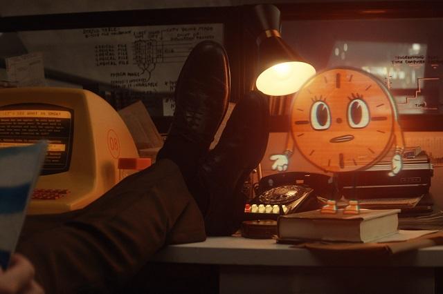 Estos son los Giphy de Miss Minutos, personaje animado de serie de Loki