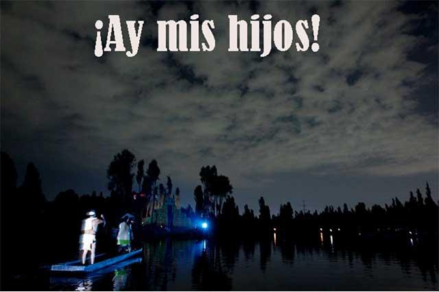 Mexicanos viven entre mitos y leyendas de miedo