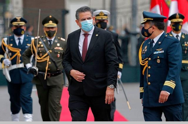 Presidente sustituto de Perú duró una semana en el cargo