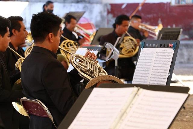 Banda Sinfónica Mixteca será apoyada por el gobierno estatal