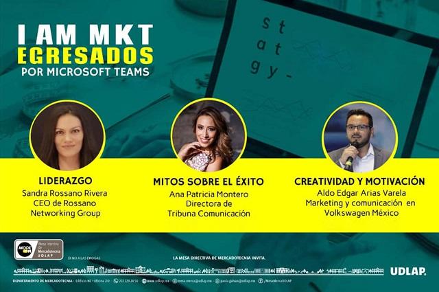 Egresados de MKT UDLAP analizan liderazgo y mitos sobre el éxito