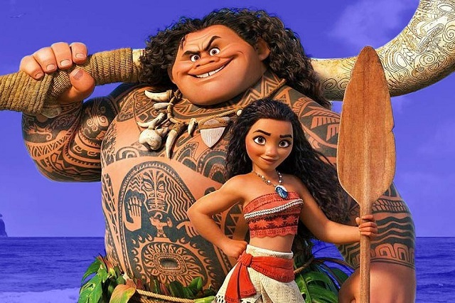Estreno de Moana: Un mar de aventuras en tv fue un éxito