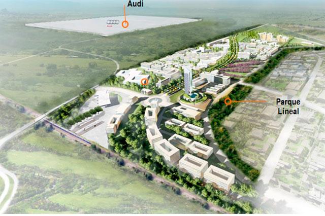 Replicarán la Ciudad Modelo de Audi en Campeche y Coahuila