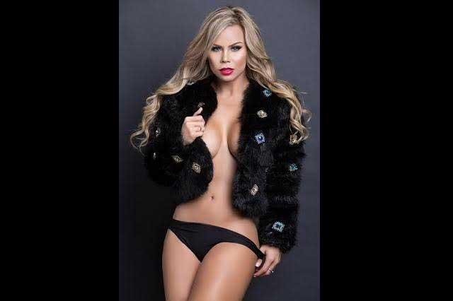 Heidy, la sexy rubia que es modelo, bailarina, actriz y empresaria