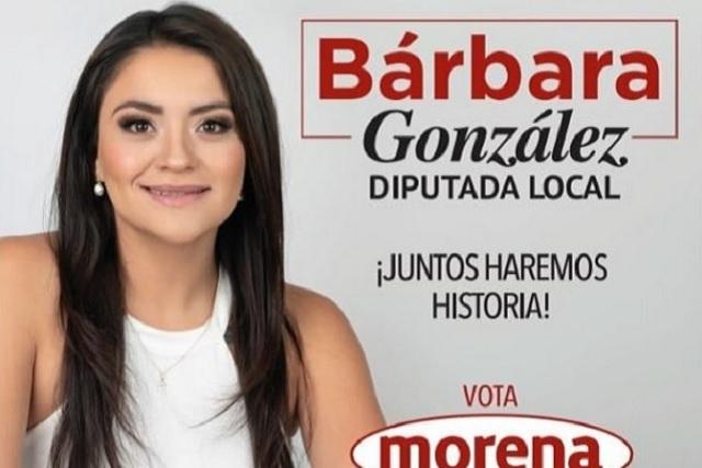 Candidata de Morena en Atizapán precisa que fue modelo, no teibolera