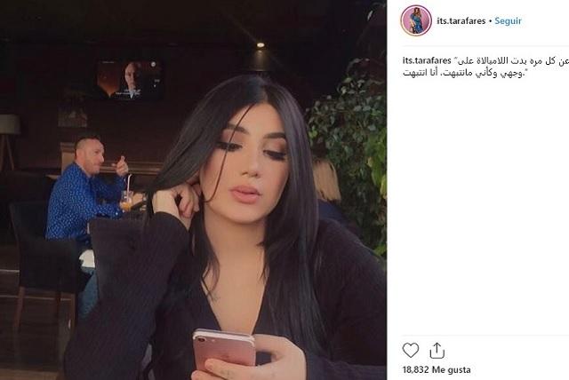 Ejecutan de 3 disparos a la modelo iraquí Tara Fares