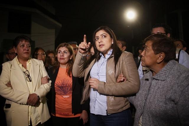 No habrá disculpa a Citelum, advierte Claudia Rivera