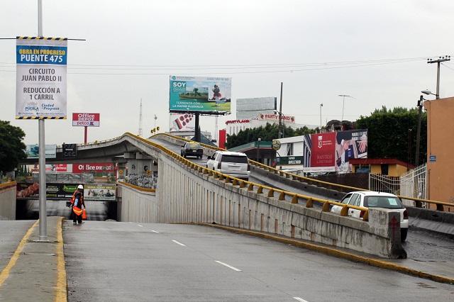 Cruceros peatonales y ciclistas tendrá el  Nodo Vial Atlixcáyotl