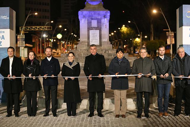 Antonio Gali y Luis Banck inauguran modernización de la avenida Juárez