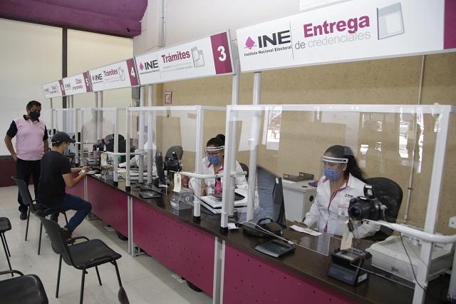 Ciudadanos piden citas en el INE- Puebla y no asisten