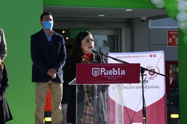 Apoya ayuntamiento de Puebla módulo de atención empresarial