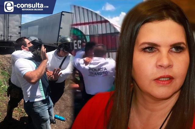 Empresarios de Texmelucan exigen la renuncia del director de seguridad