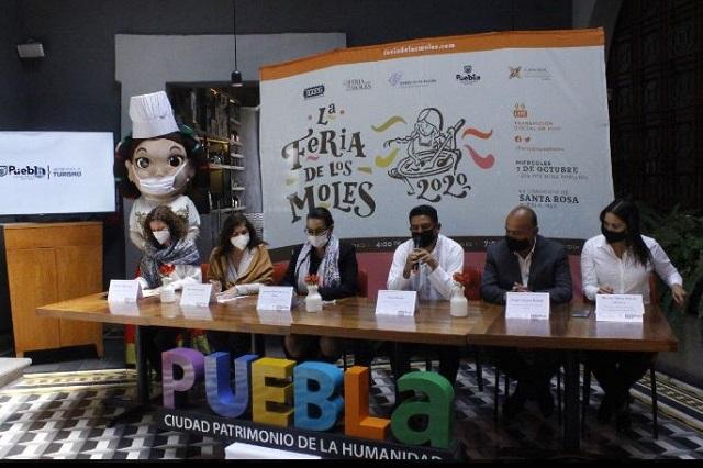 Anuncian Feria de los Moles en Puebla y convenio con 5 estados