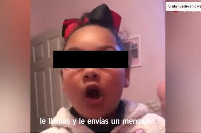 Niña explica el reto de Momo: Cuando vas a su casa te asesina