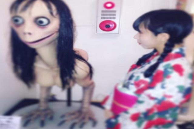 ¿Quién fue la escultora que realizó la figura de Momo, el fenómeno viral?