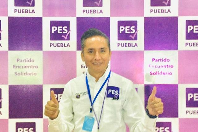 Momox Sánchez, secretario nacional de estrategia electoral del PES
