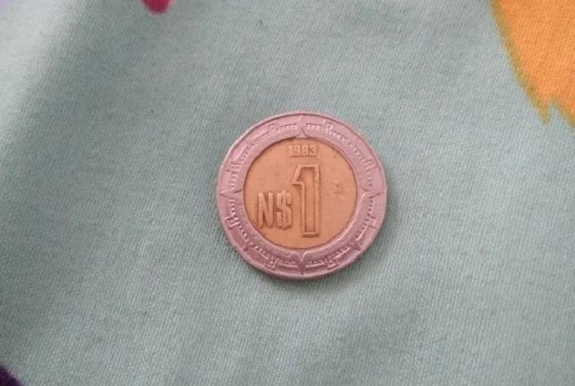 Venden moneda de un nuevo peso en 10 mil pesos en internet