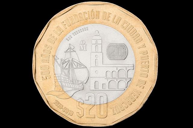 Venden monedas de 20 pesos en más de 20 mil pesos