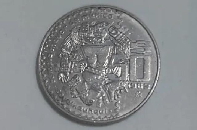 Moneda de 50 pesos de 1982 se vende en más de 150 mil pesos en internet