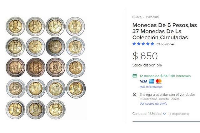¿Aún las tienes? Monedas del Bicentenario ahora valen miles en Mercado Libre
