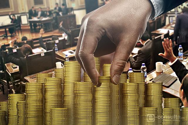 Bancadas del Congreso estatal se reparten subvenciones por 1,8 mdp