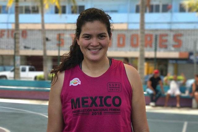 Mónica Moguel, convocada a la concentración de la Selección Mexicana de Basquetbol