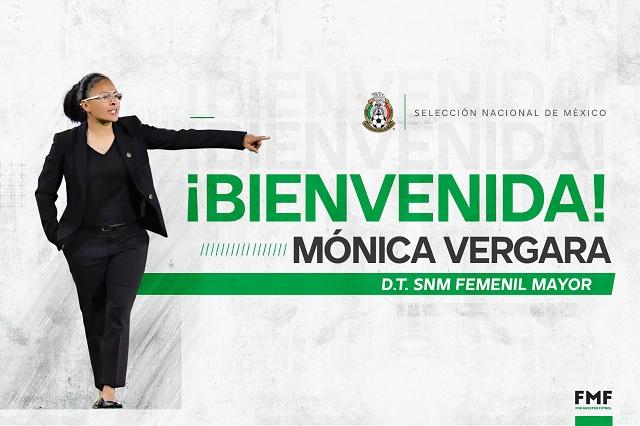 Mónica Vergara llega como nueva directora técnica de Selección Femenil