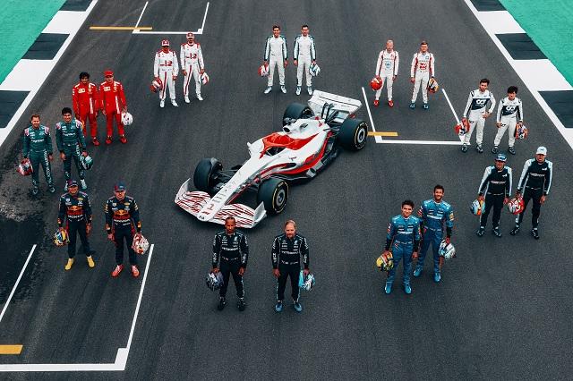 F1: Así son los monoplazas diseñados para la temporada 2022