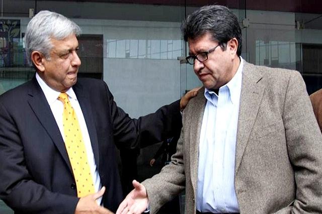 Tras reunión con AMLO, Monreal aún no decide si renunciará a Morena
