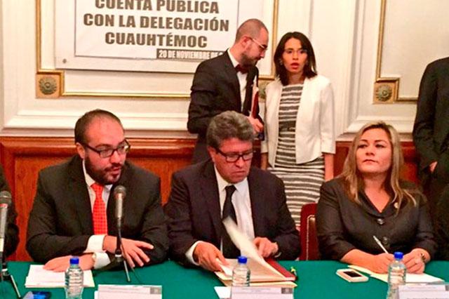 Monreal pide para la Cuauhtémoc 2 mil 100 millones de pesos