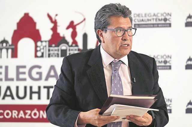 Monreal asegura que su probable ausencia no afectará a Morena