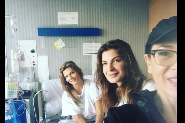Montserrat Oliver fue hospitalizada por fuerte cuadro de salmonela