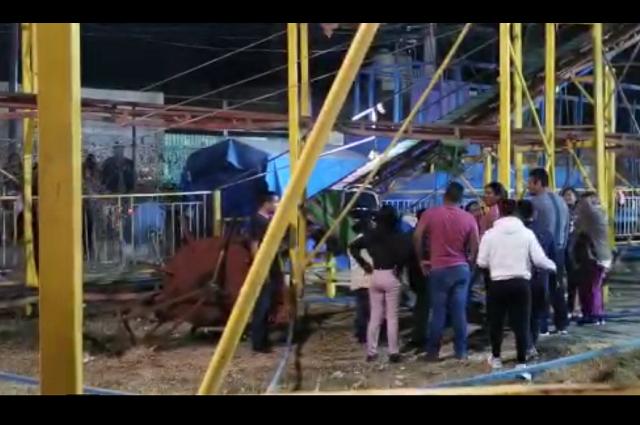 Accidentados en Villa Iluminada se encuentran fuera de peligro